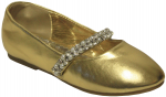 GIRLS BALLERINAS (2242445) GOLD METALLIC